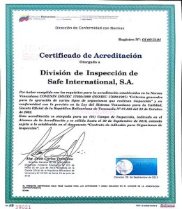 certificado-de-acreditacion-safe-international-organismo-de-inspeccion-de-buenas-practicas-de-fabricacion-de-alimentos-emitido-por-sencamer